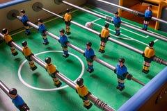 Tabule el partido de fútbol Fotos de archivo