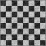 Tabuleiro de damas preto & branco Imagens de Stock