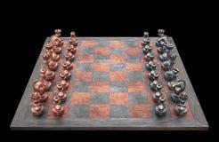 Tabuleiro de xadrez Fotografia de Stock Royalty Free