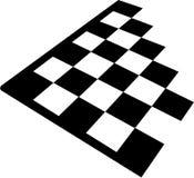 Tabuleiro de xadrez ilustração stock