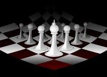 Tabuleiro de xadrez abstrato Imagens de Stock Royalty Free