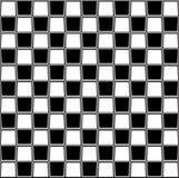 Tabuleiro de xadrez abstrato Imagem de Stock