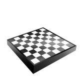 Tabuleiro de xadrez preto e branco Fotos de Stock Royalty Free