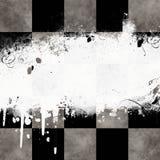Tabuleiro de xadrez sujo ilustração do vetor