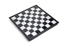 Tabuleiro de xadrez vazio Fotografia de Stock Royalty Free