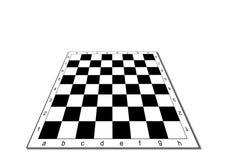 Tabuleiro de xadrez vazio Fotografia de Stock