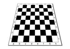 Tabuleiro de xadrez vazio Foto de Stock