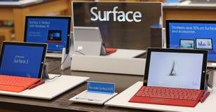 Tabuleta da superfície 3 Foto de Stock