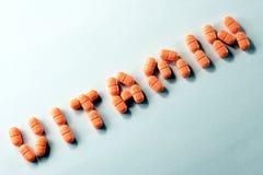 Tabuleta da vitamina C Fotografia de Stock