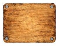 Tabuleta de madeira Imagens de Stock
