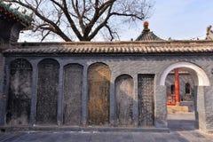 Tabuleta de pedra chinesa Fotografia de Stock Royalty Free