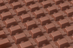 Tabuleta do chocolate fotografia de stock royalty free