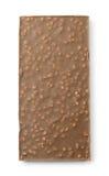 Tabuleta do chocolate de Brown Fotos de Stock Royalty Free