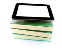 Tabuleta do leitor de EBook Fotografia de Stock