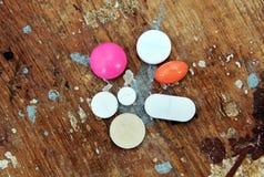 Tabuleta e comprimidos da medicina Imagem de Stock Royalty Free