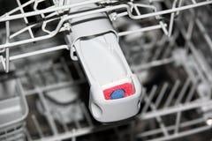 Tabuleta para a máquina da máquina de lavar louça Fotografia de Stock Royalty Free