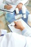 Tabuletas de prescrição Imagens de Stock