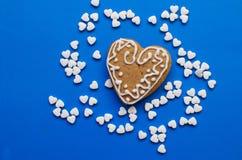 Tabuletas e coração foto de stock royalty free