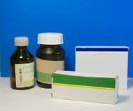 Tabuletas e medicina Fotografia de Stock