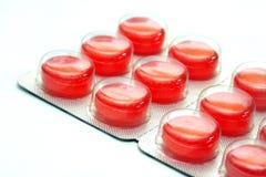 Tabuletas/médico fotografia de stock