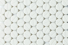 Tabuletas ou medicina branca Imagens de Stock