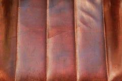 Taburete de cuero en el top Imagenes de archivo