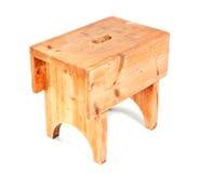 Taburete de madera Imagen de archivo libre de regalías