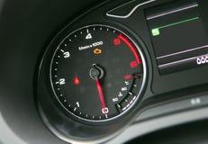 Tacómetro del coche Foto de archivo