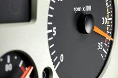 Tacômetro imagem de stock