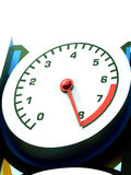 Tacômetro Imagem de Stock Royalty Free