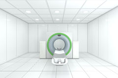 Tac Machine. In Hospital Room - High quality render Royalty Free Stock Image