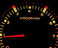 Tacômetro do carro Imagens de Stock Royalty Free
