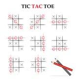 tac-muskelryckningtoe Arkivbild