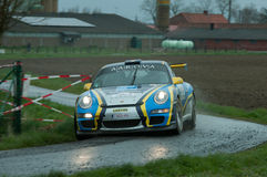 TAC Rally 2015 Belgium Royalty Free Stock Photo