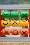 Tac-Ticzehenspiel Stockbild