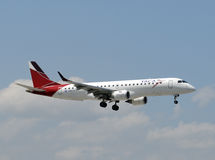 TACA airline passenger jet Royalty Free Stock Photography