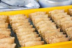Taca Głębocy Smażący currych chuchy Fotografia Royalty Free