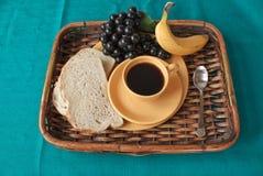 taca śniadaniowy tekstylny turkus zdjęcia royalty free