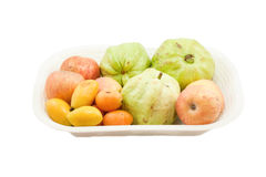 Taca owoc Fotografia Stock