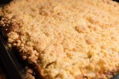 Taca tort z rozdrobni Zdjęcie Royalty Free