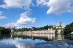 Taccani-Wasserkraftwerk Lizenzfreie Stockfotografie
