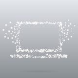 Taccuino creativo dell'icona del punto Fotografia Stock