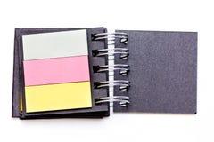 Taccuino di colore Fotografia Stock