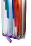 Taccuino e penna per le note Fotografia Stock