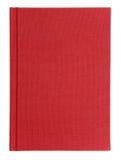 Taccuino rosso Immagini Stock