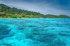 Tachai海岛 免版税图库摄影