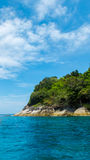 Tachai Island in Andaman with Crystal Clear Sea Royalty Free Stock Photos
