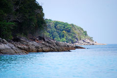 Tachai Island Royalty Free Stock Photo