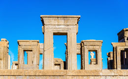 Tachara Palace of Darius at Persepolis Royalty Free Stock Images