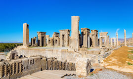 Tachara Palace of Darius at Persepolis Royalty Free Stock Photos